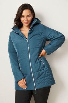 Isobar Plus Longline Puffer Jacket - 255126