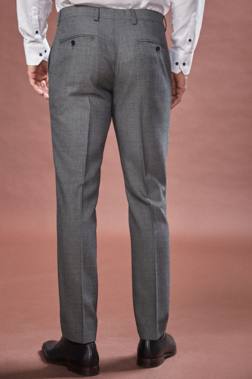 Next Empire Mills Signature Birdseye Suit: Trousers