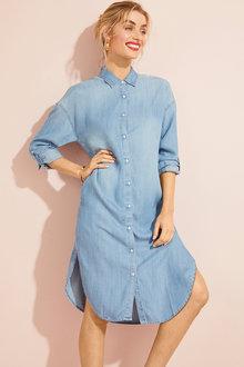 Capture Shirt Dress - 255145