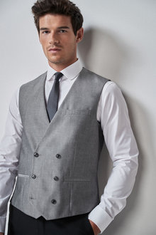 Next Suit: Double Breasted Waistcoat - 255150