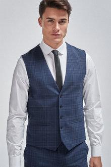Next Check Suit: Waistcoat - 255151