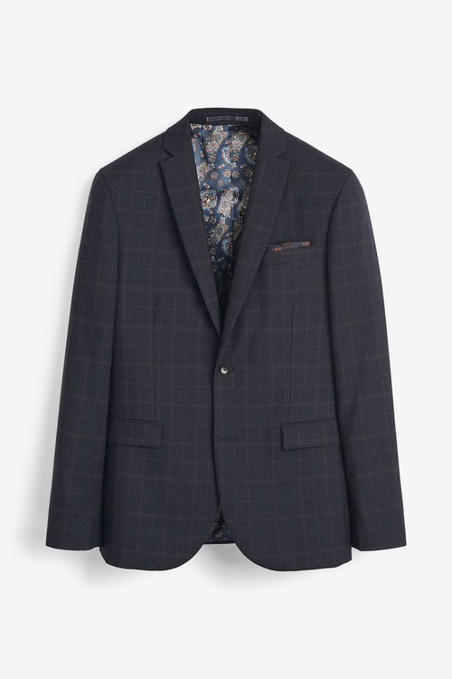 Next Empire Mills Signature Check Suit: Jacket