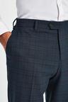 Next Check Suit: Trousers-Regular Fit