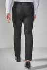 Next Tuxedo Trousers With Contrast Tape Detail-Skinny Fit