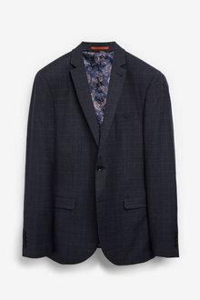 Next Empire Mills Signature Check Suit: Jacket - 255162