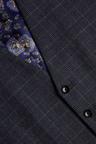 Next Empire Mills Check Suit: Waistcoat