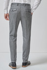 Next Herringbone Suit: Trousers-Skinny Fit