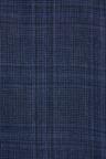 Next Linen Blend Check Suit: Jacket-Slim Fit