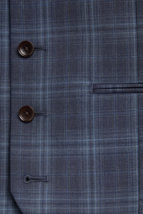 Next TG Di Fabio Signature Check Suit: Waistcoat