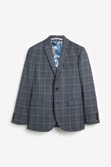 Next Check Suit: Jacket-Regular Fit - 255182