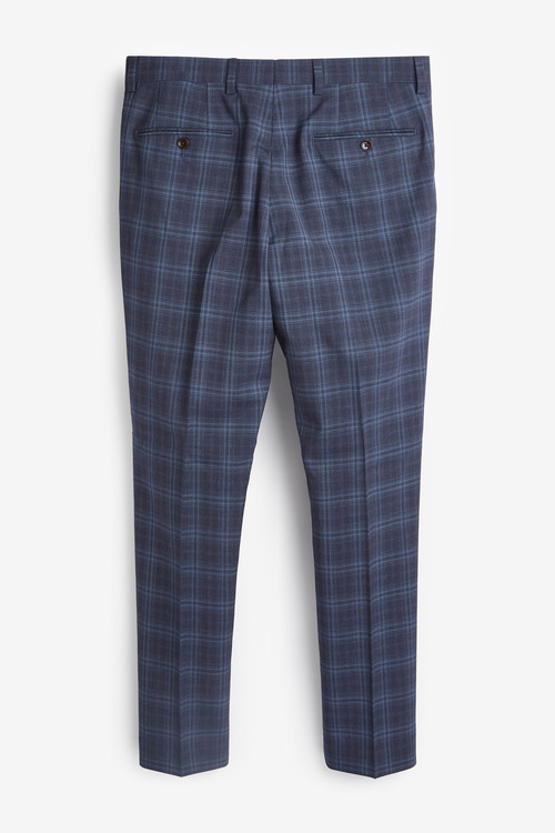 Next TG Di Fabio Signature Check Suit: Trousers-Slim Fit