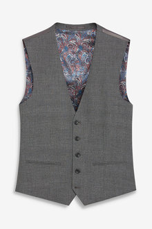 Next Textured Suit: Waistcoat - 255186