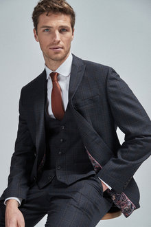 Next Check Suit: Jacket - 255187