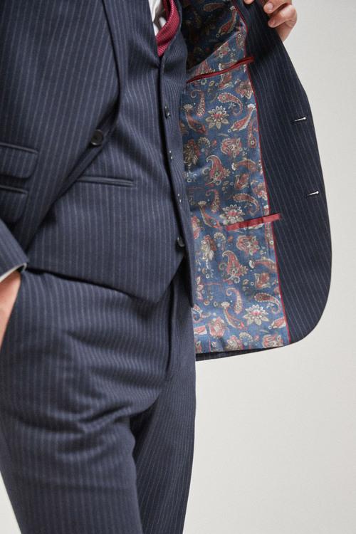 Next Stripe Suit: Jacket-Regular Fit