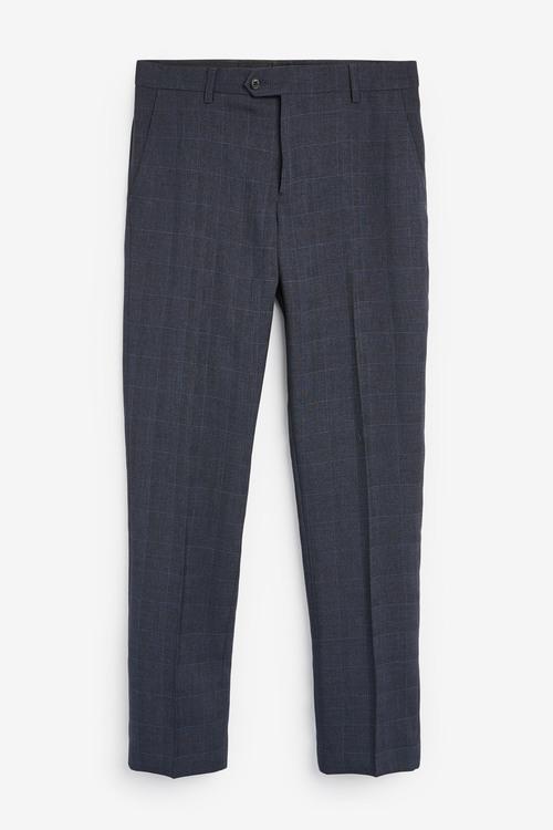 Next Check Suit: Trousers-Slim Fit