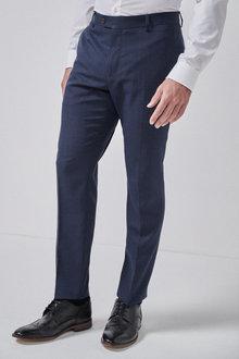 Next Check Suit: Trousers-Slim Fit - 255191