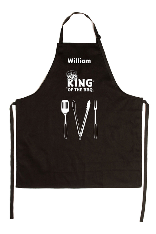 Personalised King of the BBQ Apron