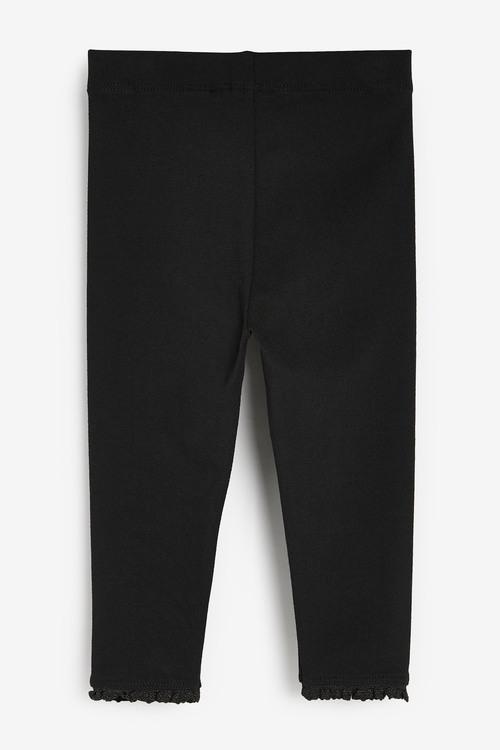 Next Black 1 Pack Basic Leggings (3mths-7yrs)
