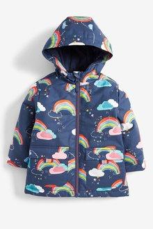 Next Navy Rainbow Jacket - 255378
