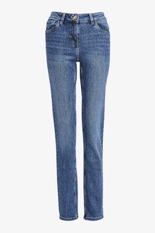 Next Mid Blue Slim Jeans - 255379