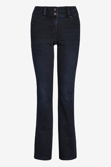 Next Inky Wash Lift, Slim And Shape Boot Cut Jeans - 255382