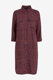 Next Berry Shirt Dress - 255391