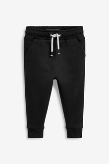 Next Black Soft Touch Joggers - 255395