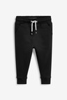 Next Black Soft Touch Joggers (3mths-7yrs)