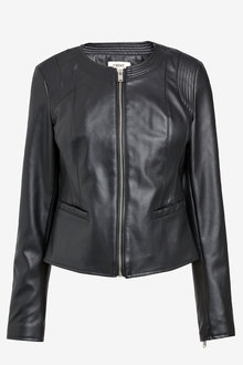 Next Black Pu Formal Jacket - 255397
