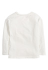Next White Relaxed Fit 3D Girl Graphic T-Shirt