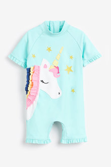 Next Aqua 3D Unicorn Sunsafe Suit - 255446