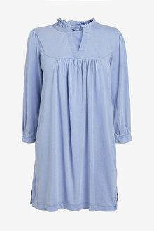Next Blue Long Sleeve Tunic - 255448