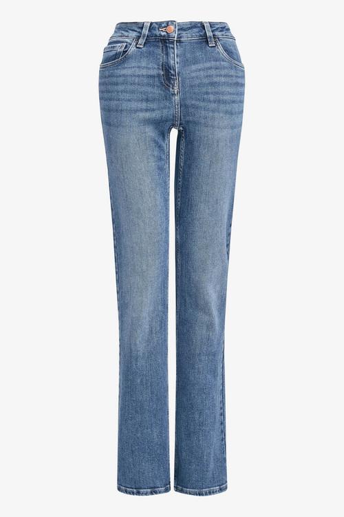 Next Mid Blue Boot Cut Jeans