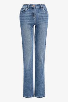Next Mid Blue Boot Cut Jeans - 255455