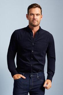 Southcape Corduroy Long Sleeve Shirt - 255472