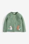 Next Green Bunny Cardigan