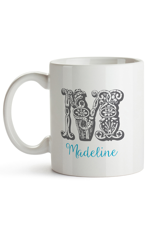 Personalised Initials Ceramic Mug