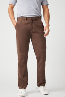 Southcape Straight Fit Corduroy Pants - 255549