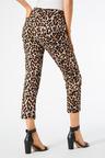 Animal Print Slim Jean