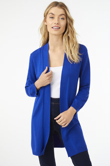 3/4 Sleeve Basic Cardigan - 255609