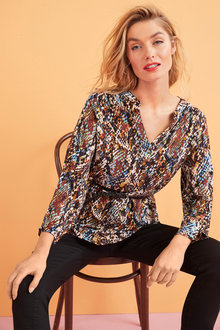 Belted Popover Shirt - 255644