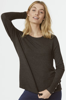 Button Sleeve Knit Jumper - 255645