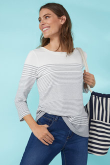 Variegated Stripe Top - 255661