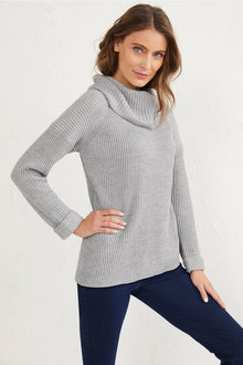 Roll Neck Pullover - 255669