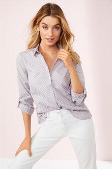 Spot Print Shirt - 255676