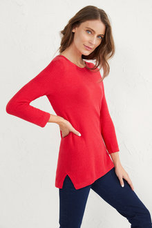 Textured Pullover - 255678