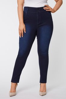Double Button Jeans - 255707