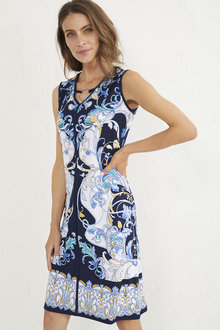 Sleeveless Midi Dress - 255841