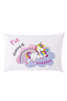 Personalised Unicorn Pillowcase - 255869