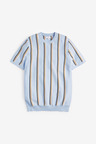 Next Vertical Stripe Knitted T-Shirt